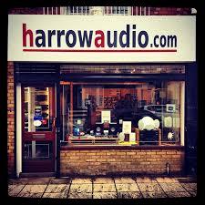 Harrow Audio... just a few minutes walk from Harrow on the Hill Station.